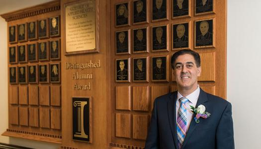 Distinguished Alumni Award winner John Consalvi