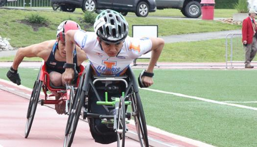 Paralympic athlete Ray Martin