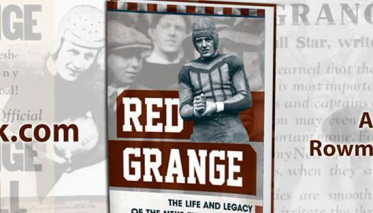 Photo of Red Grange book by Chris Willis